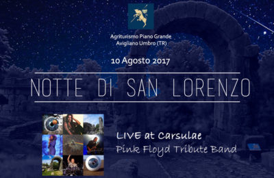 Notte di San Lorenzo: Live at Carsulae – Pink Floyd Tribute