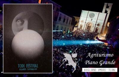 Todi Festival: kermesse di teatro, musica, arti visive e letteratura.