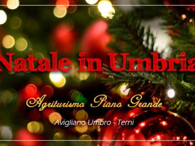 Offerta Natale in Agriturismo in Umbria